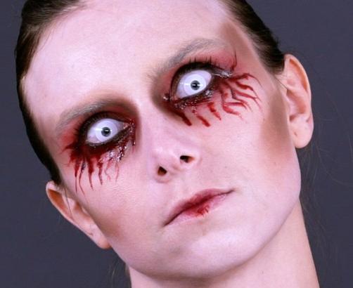 yeux sang