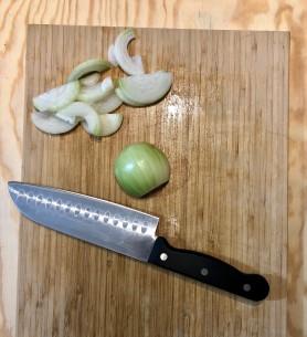 oignons soupe courgette