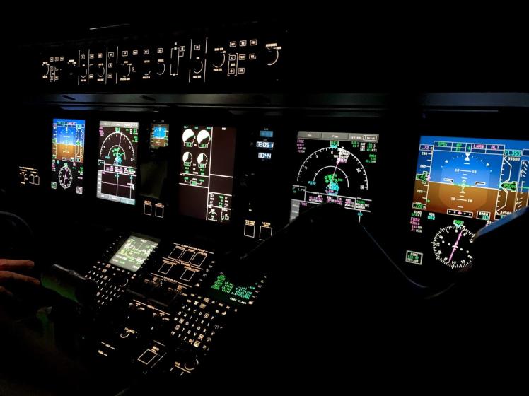 cockpit nuit